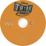 Disney Th!nk Fast: The Ultimate Trivia Showdown Wii disc (RXDY4Q)