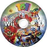 101-in-1 Party Megamix Wii disc (RYEPHZ)