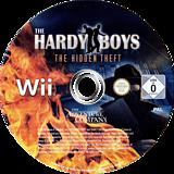The Hardy Boys: The Hidden Theft Wii disc (RYNP6V)