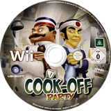 Cook-off Party Wii disc (RZLP41)