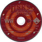Link's Crossbow Training Wii disc (RZPP01)