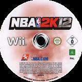 NBA 2K12 Wii disc (S2QP54)