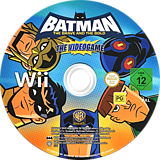 Batman: The Brave and the Bold Wii disc (S3BPWR)