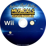 Andrew Lloyd Webber Musicals: Sing and Dance Wii disc (S3LPY1)
