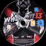 WWE '13 Wii disc (S3XP78)
