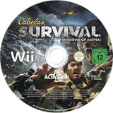 Cabela's Survival: Shadows of Katmai Wii disc (SAJP52)