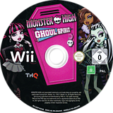 Monster High: Ghoul Spirit Wii disc (SAOP78)
