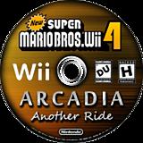 New Super Mario Bros. Wii 4 Arcadia Another Ride CUSTOM disc (SARP01)