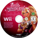 Barbie: Groom and Glam Pups Wii disc (SB9P78)
