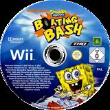 SpongeBob's Boating Bash Wii disc (SBVP78)
