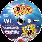SpongeBob's Boating Bash Wii disc (SBVS78)