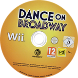 Dance on Broadway Wii disc (SBYP41)