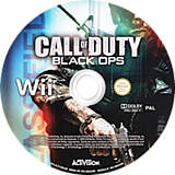 Call of Duty: Black Ops Wii disc (SC7S52)