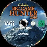 Cabela's Big Game Hunter 2010 Wii disc (SC9P52)