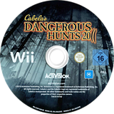 Cabela's Dangerous Hunts 2011 Wii disc (SCDP52)