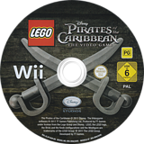LEGO Pirates of the Caribbean: The Video Game Wii disc (SCJP4Q)