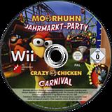 Crazy Chicken: Carnival Wii disc (SCUPFR)