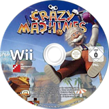 Crazy Machines Wii disc (SCZPFR)