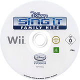 Disney Sing It: Family Hits Wii disc (SDFP4Q)