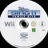 Disney Sing It:Family Hits Wii disc (SDFP4Q)