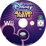Disney Channel: All Star Party Wii disc (SDGP4Q)