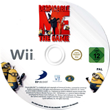 Despicable Me: The Game Wii disc (SDMPAF)