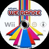 We Dance Wii disc (SDSPNG)