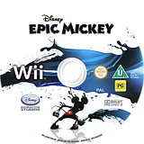 Disney Epic Mickey Wii disc (SEMX4Q)