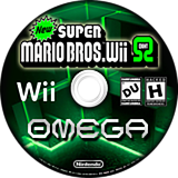 New Super Mario Bros. Wii 8 Omega CUSTOM disc (SEOP01)
