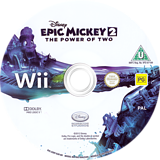 Disney Epic Mickey 2: The Power of Two Wii disc (SERP4Q)