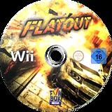 Flatout Wii disc (SF4PXT)
