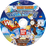 Family Trainer: Magical Carnival Wii disc (SFDPAF)