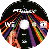 Fit Music Wii disc (SFEPYF)