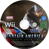 Captain America: Super Soldier Wii disc (SFQP8P)