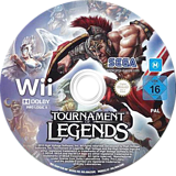 Tournament of Legends Wii disc (SGAP8P)