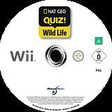 Nat Geo Quiz! Wild Life Wii disc (SGEPLG)
