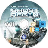 Tom Clancy's Ghost Recon Wii disc (SGHP41)