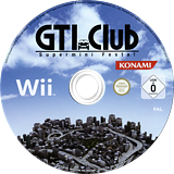 GTI Club Supermini Festa! Wii disc (SGIPA4)