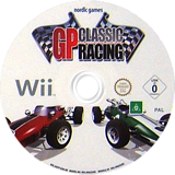 GP Classic Racing Wii disc (SGPPNG)