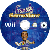 Family GameShow Wii disc (SGSP7J)