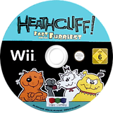 Heathcliff: The Fast and the Furriest Wii disc (SH9PNJ)