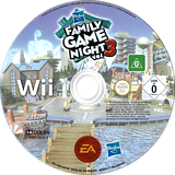 Hasbro: Family Game Night 3 Wii disc (SHBP69)