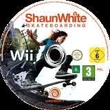 Shaun White Skateboarding Wii disc (SHNP41)