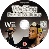We Sing: Robbie Williams Wii disc (SINPNG)