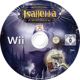 Princess Isabella: A Witch's Curse Wii disc (SISPUH)