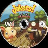 Jakers! Kart Racing Wii disc (SJ3PNL)