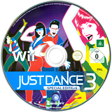 Just Dance 3 Special Edition Wii disc (SJDX41)