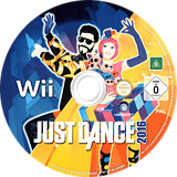Just Dance 2016 Wii disc (SJNP41)