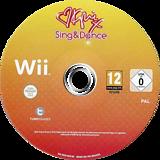 Kylie Sing & Dance Wii disc (SK5PY1)