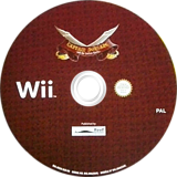 Captain Morgane and the Golden Turtle Wii disc (SKKPHY)